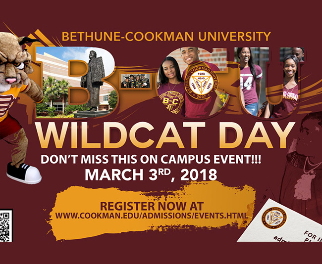 bethune cookman Bethune-cookman university students and alumni will deliver a petition to the school president to try and stop the speech.