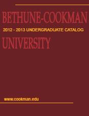 Undergraduate Catalog 2012 - 2013