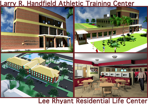 Larry R. Handfield Athletic Training Center & Lee Rhyant Residential Life Center