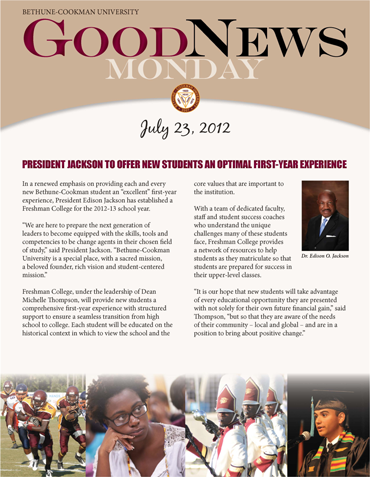 Good News Monday - July 23, 2012