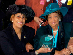 Dr. Reed and Dr. Dorothy Height