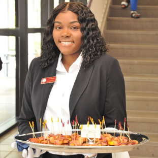 * Meet Tyla Plowden, a bridge Program Participant who graduated with honors last semester. This could be You!